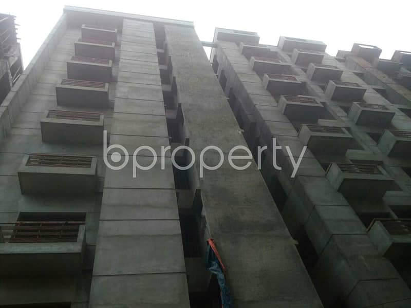 Plan to move in this 1050 SQ FT flat which is up for sale in Darussalam