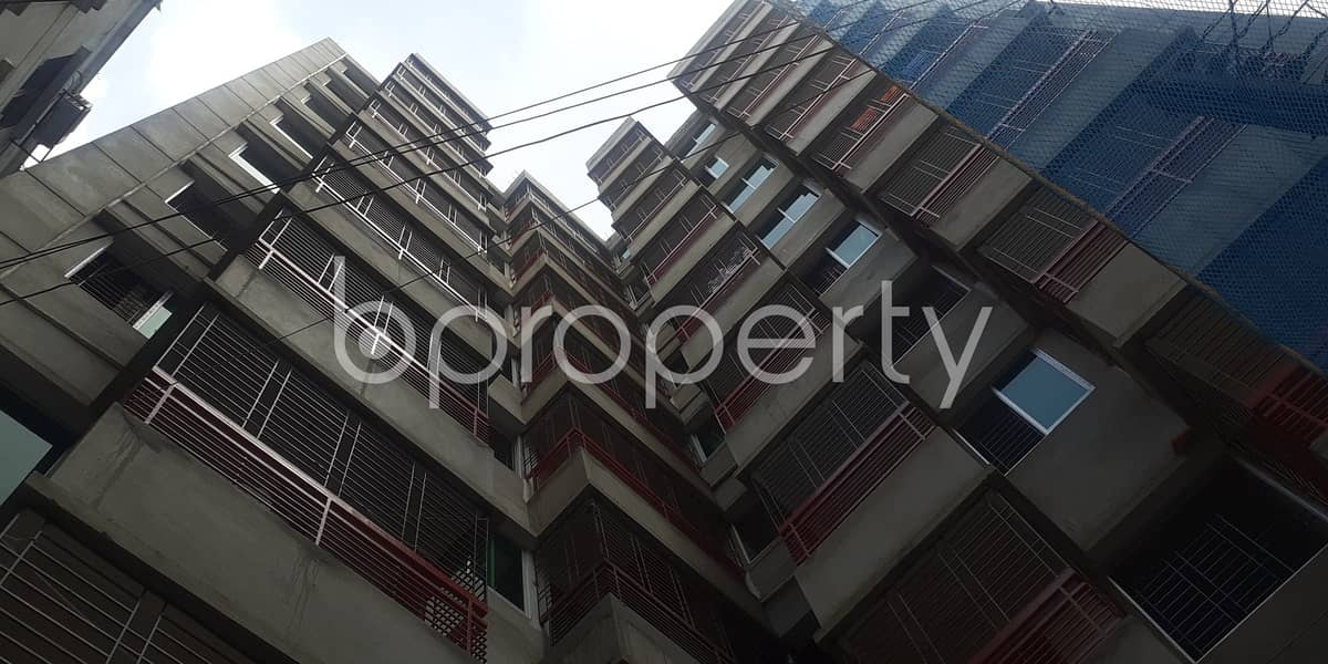 This 1333 sq. ft flat will ensure your good quality of living in Ibrahimpur