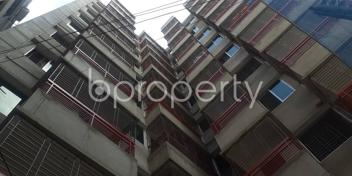 This 1333 sq. ft flat will ensure your better quality of living in Ibrahimpur